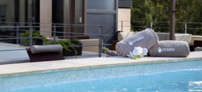 Can Alomar Hotel pool, Palma de Mallorca