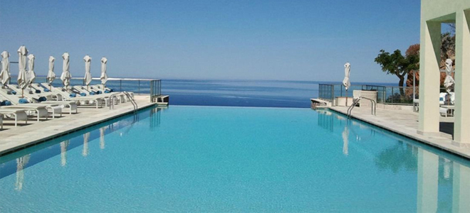 Pool at Jumeirah Soller Hotel & Spa, Mallorca (Majorca)