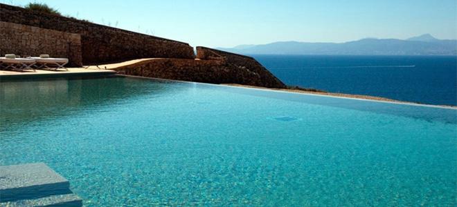 Pool at Cap Rocat Hotel, Mallorca