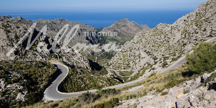 Cycling Sa Calobra in Mallorca