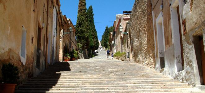 Calvari Steps, Polllenca, Mallorca