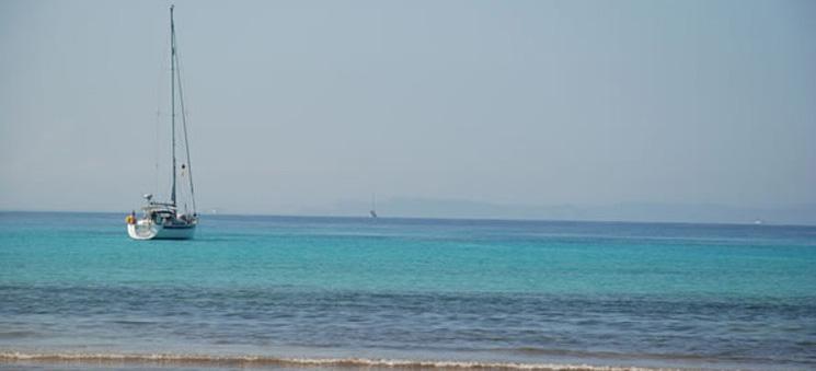 Es Trenc Beach near to Migjorn Aparthotel, Mallorca