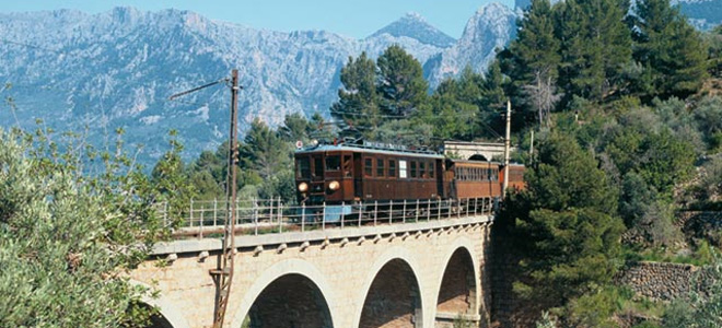 Soller to Palma Train, Mallorca