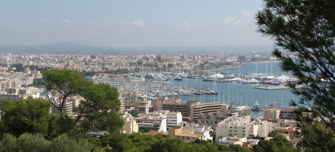 Bellver Castle view, Palma de Mallorca
