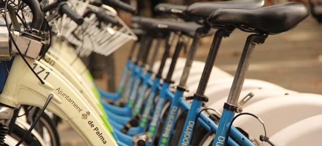 Bikes in Palma de Mallorca