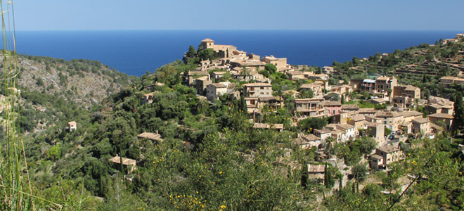 Deia village, Tramuntana Mountains, Mallorca