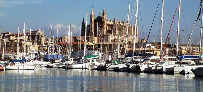 Palma Cathedral & Seafront, Mallorca