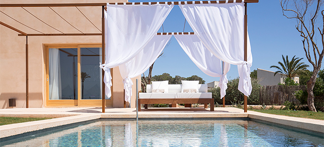 Luxury two bedroom villa with private pool, Font Santa Hotel & Spa, Mallorca
