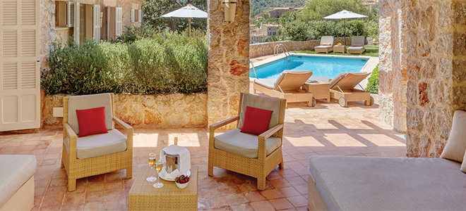 Presidential Suite with private pool, Belmond La Residencia Hotel, Mallorca
