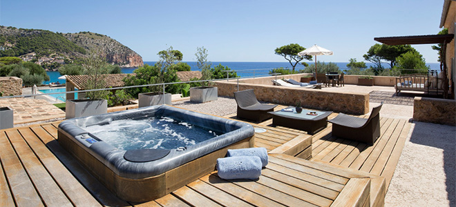 Luxury Suite with Jacuzzi, Can Simoneta Hotel, Mallorca