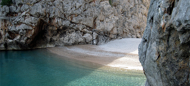 Sa Calobra beach, North West Mallorca